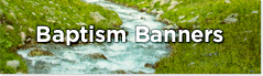 baptismal banner