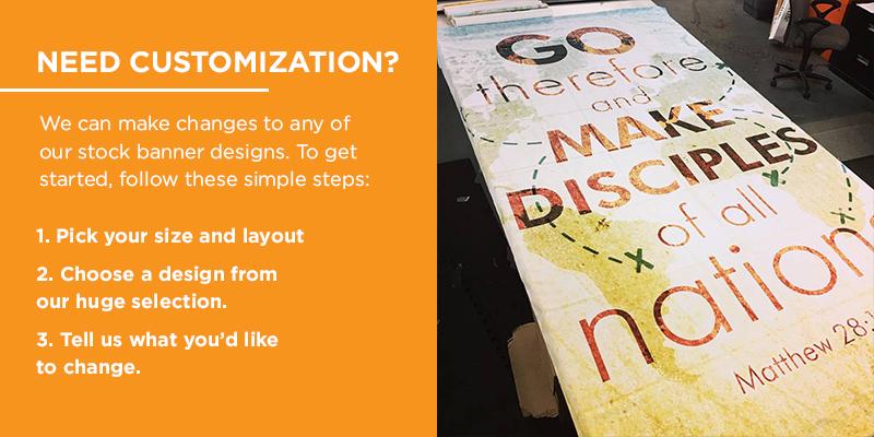 custom banner process
