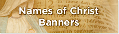 names of Christ Banners